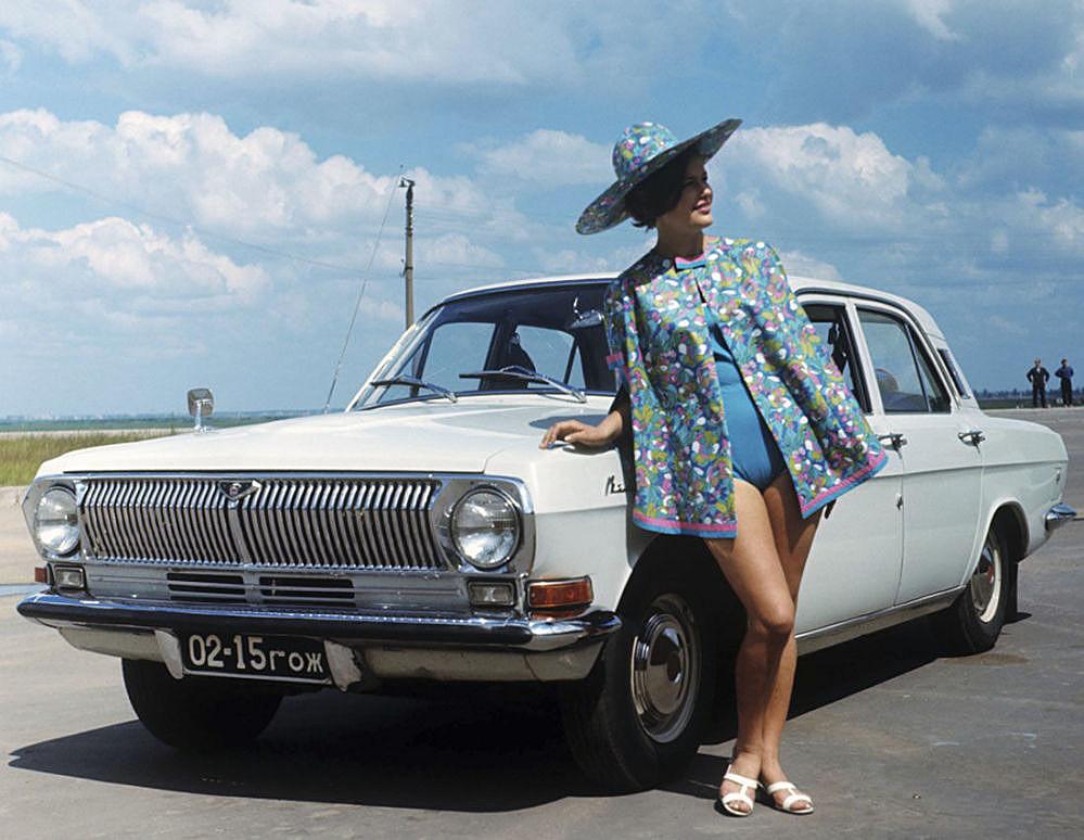 GAZ-24 'Volga'.