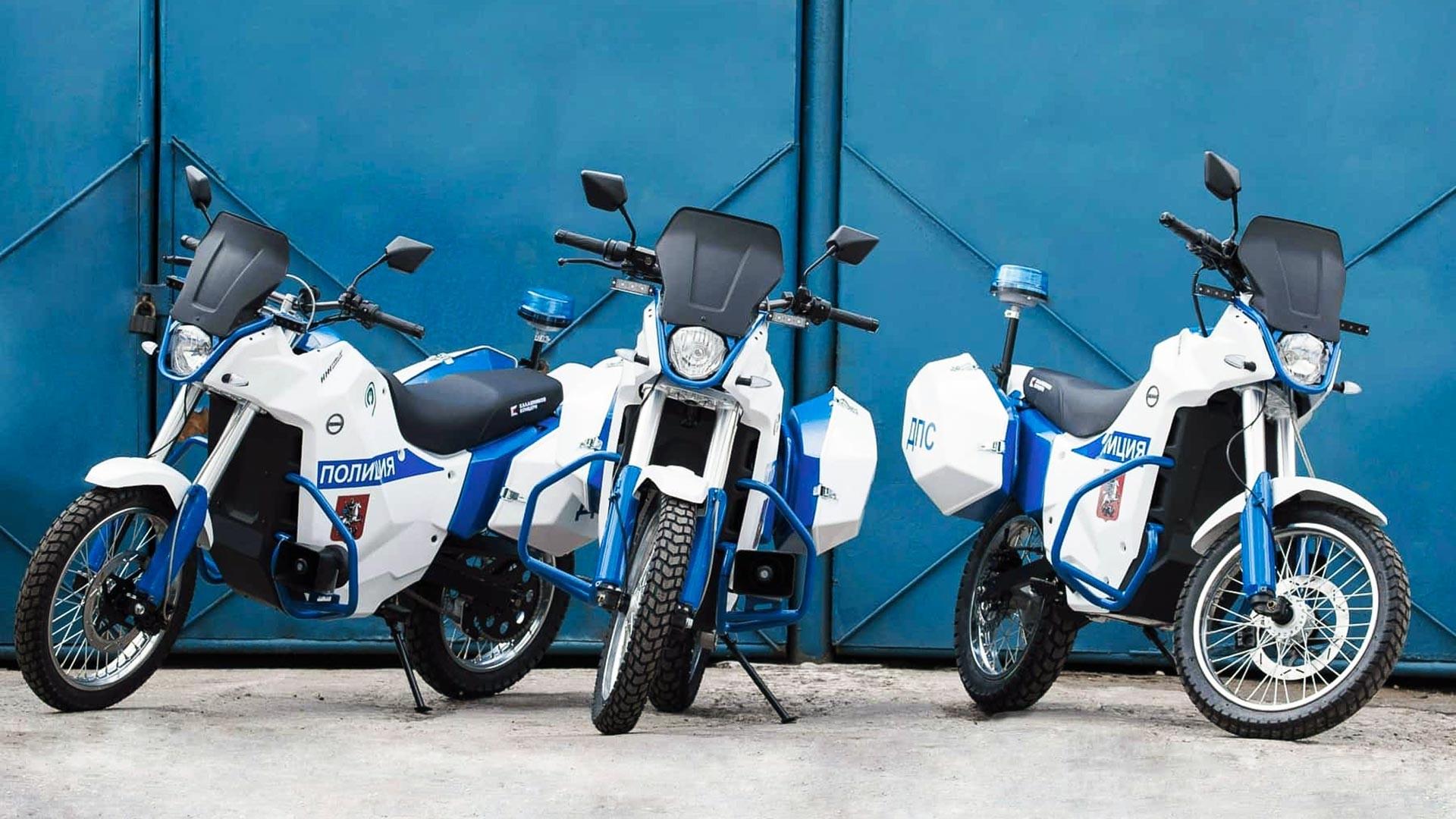 Electro motorcycle IZH Pulsar