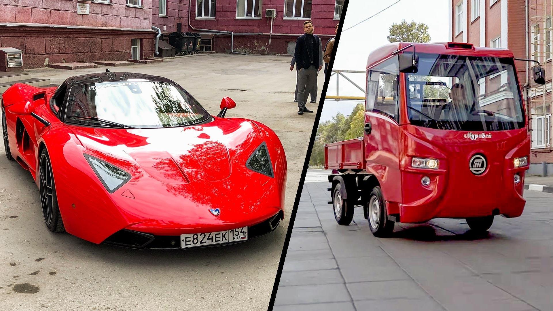 Tujuh Mobil Listrik Terbaik Buatan Rusia Russia Beyond