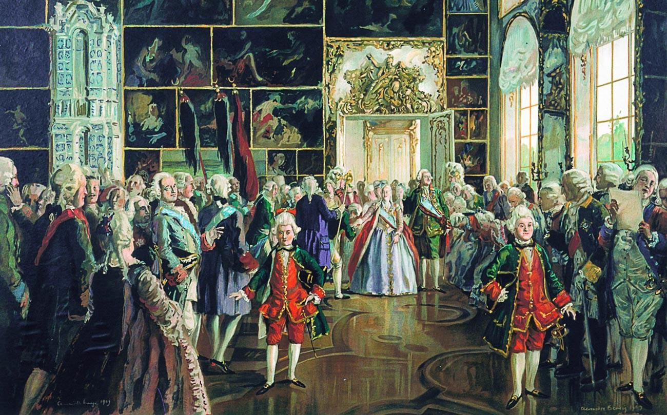 L'impératrice Catherine II