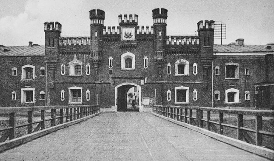Крепостта, когато е полска