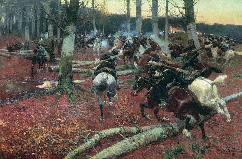 Untuk memenangkan peperangan, Rusia terus memberikan tekanan kepada penduduk setempat.