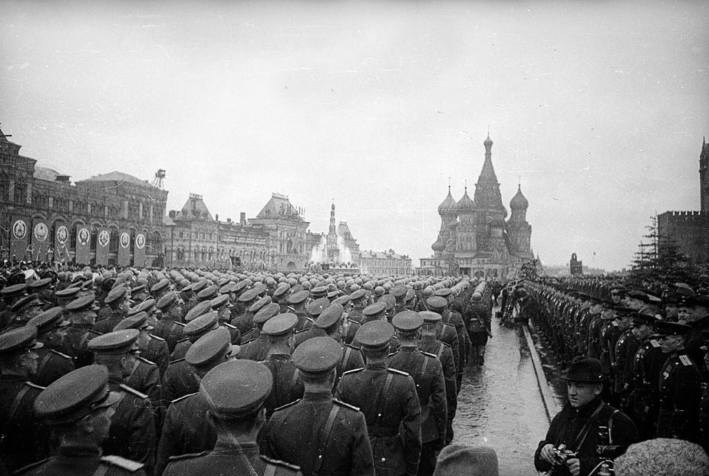 Парада Победе, Црвени трг, Москва, 24. јун 1945.