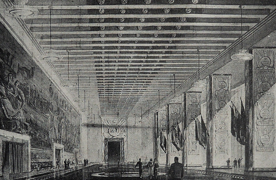 A hall of the Civil Glory