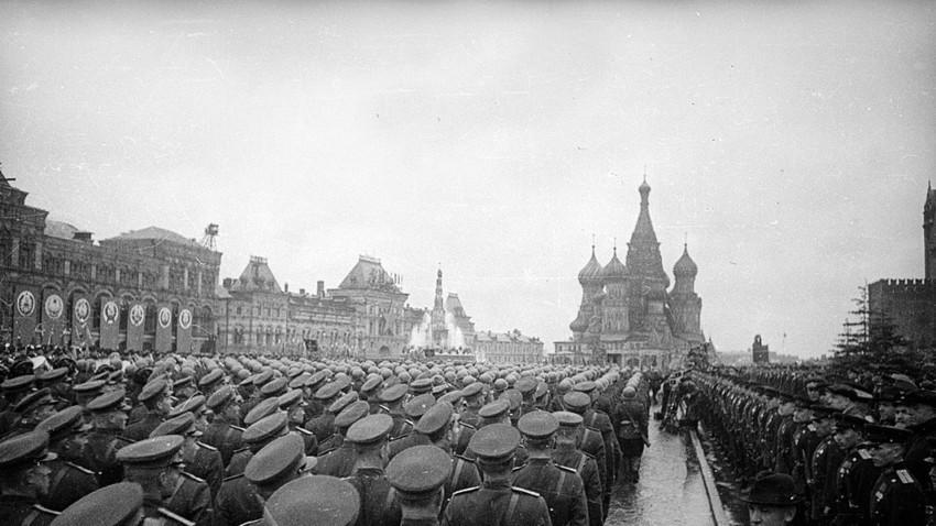 Парадата на Победата, Црвен плоштад, Москва, 24 јуни 1945.