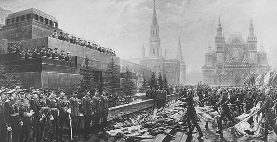 Парадата на Победата, 24 јуни 1945.