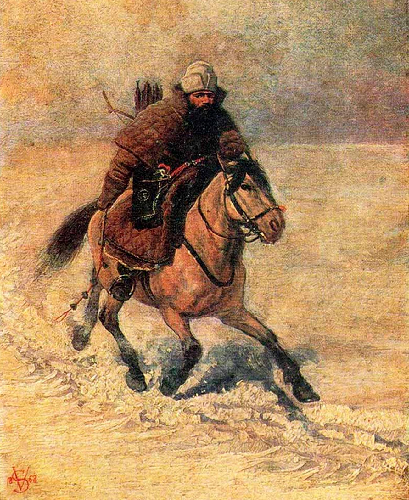 16世紀の配達員