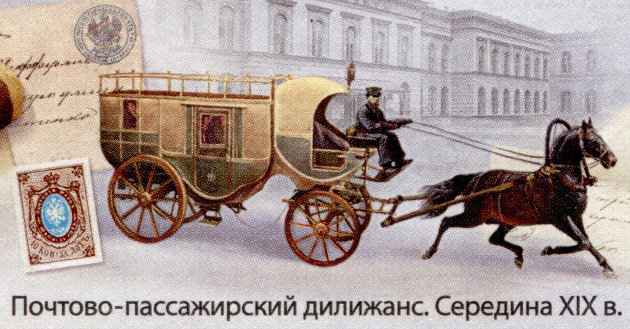 19世紀の郵便馬車