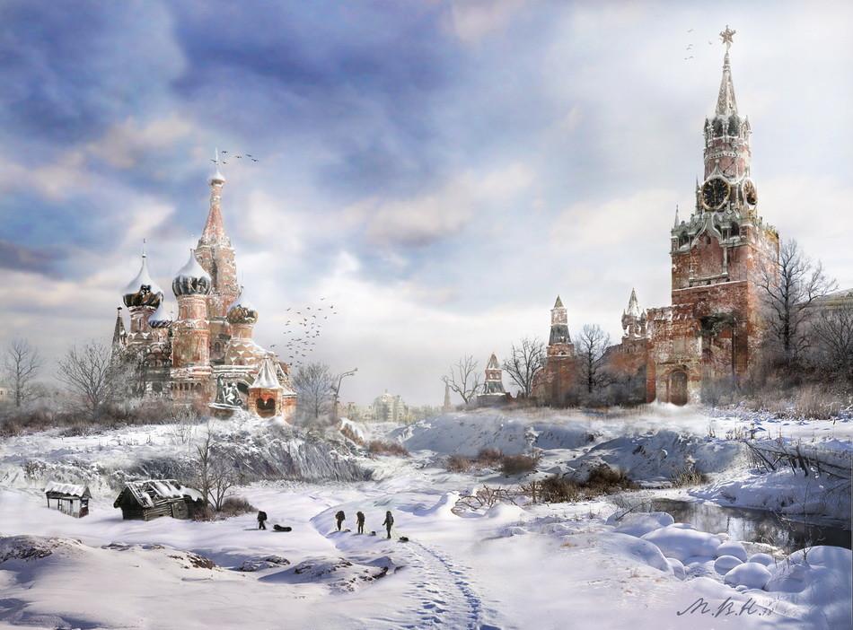 Vladímir Manyujin es un diseñador moscovita, conocido entre los artistas gráficos de 2D y 3D con el mote de mvn.78.