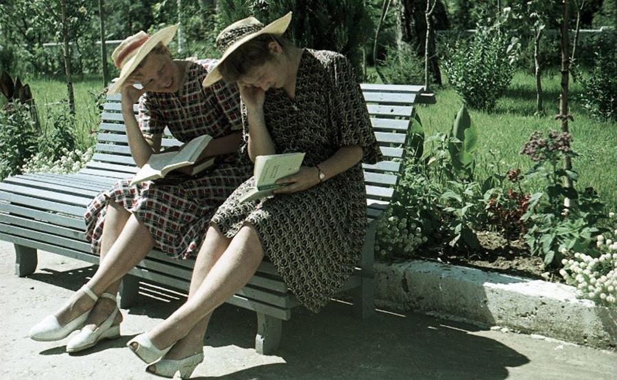 Jezero Rica, 1952.