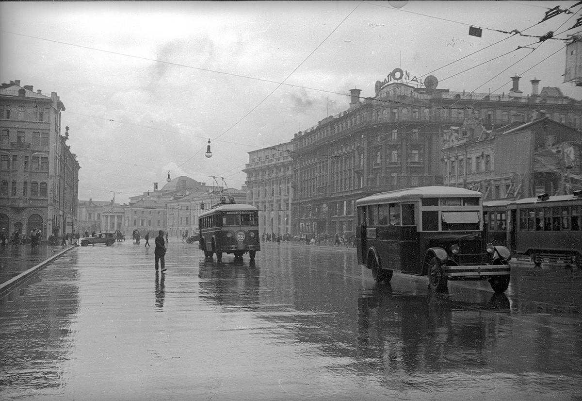 Ochotnyj-Rjad-Straße, 1930