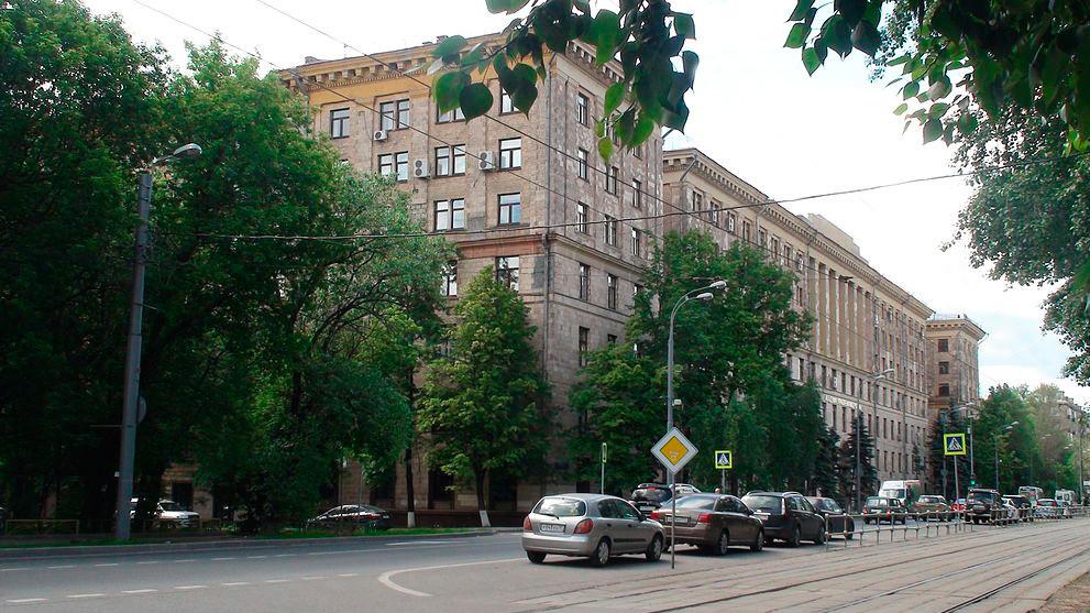 Улица Зоје и Александра Космодемјанских у Коптеву