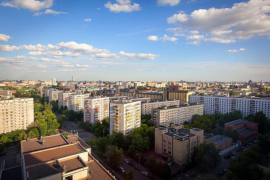 Гастелова улица, рејон Сокољники, Москва.