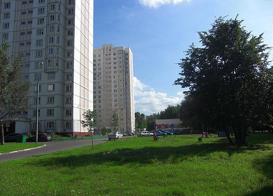 Улица Алије Молдагулове у Вешњацима.