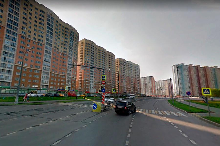 Улица Маресјева у Некрасовци.