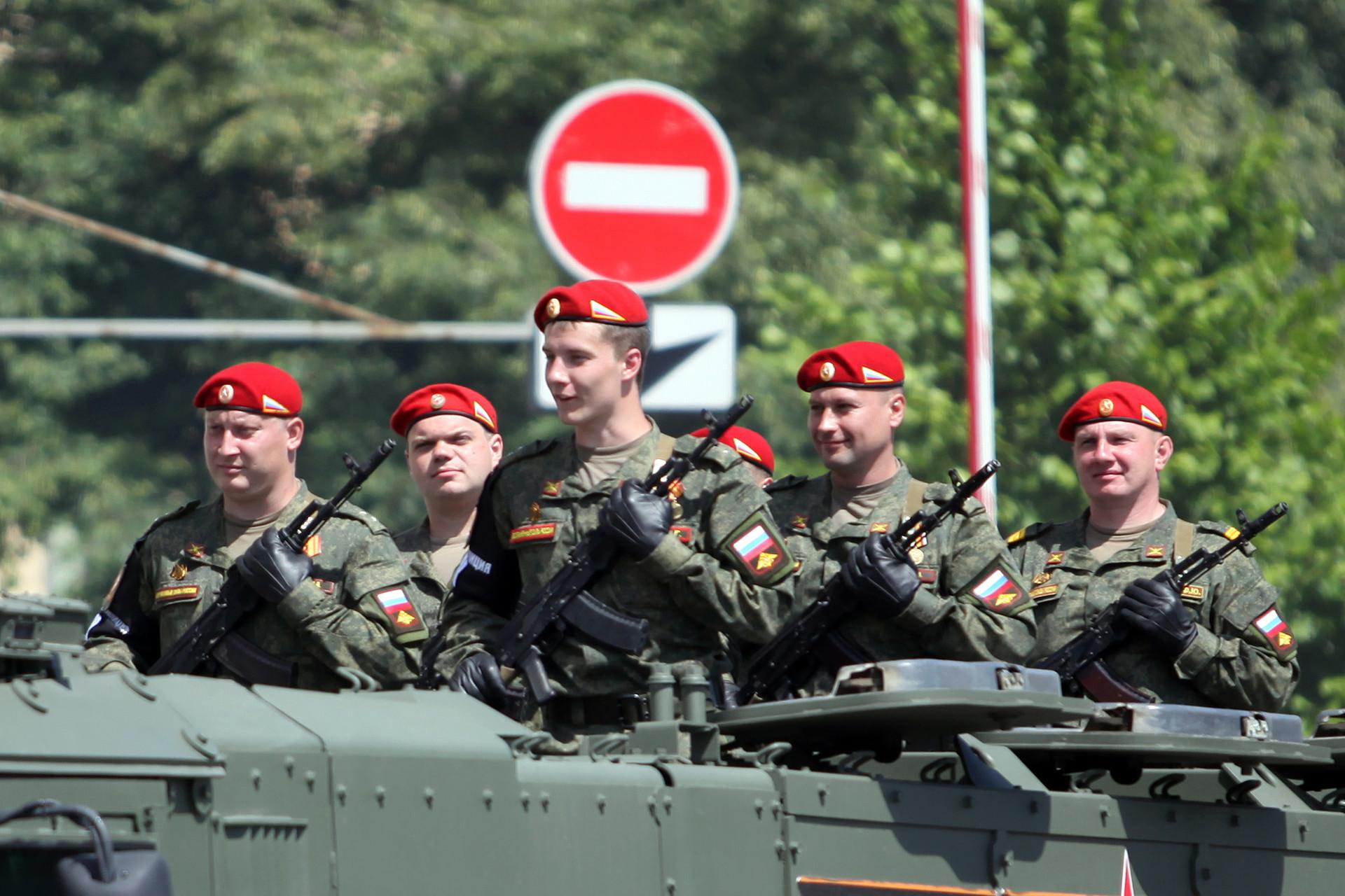 Parade Kemenangan di Moskow.