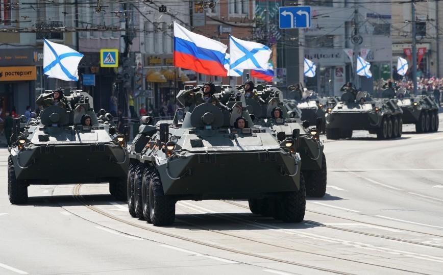 Parade Kemenangan di Kaliningrad.
