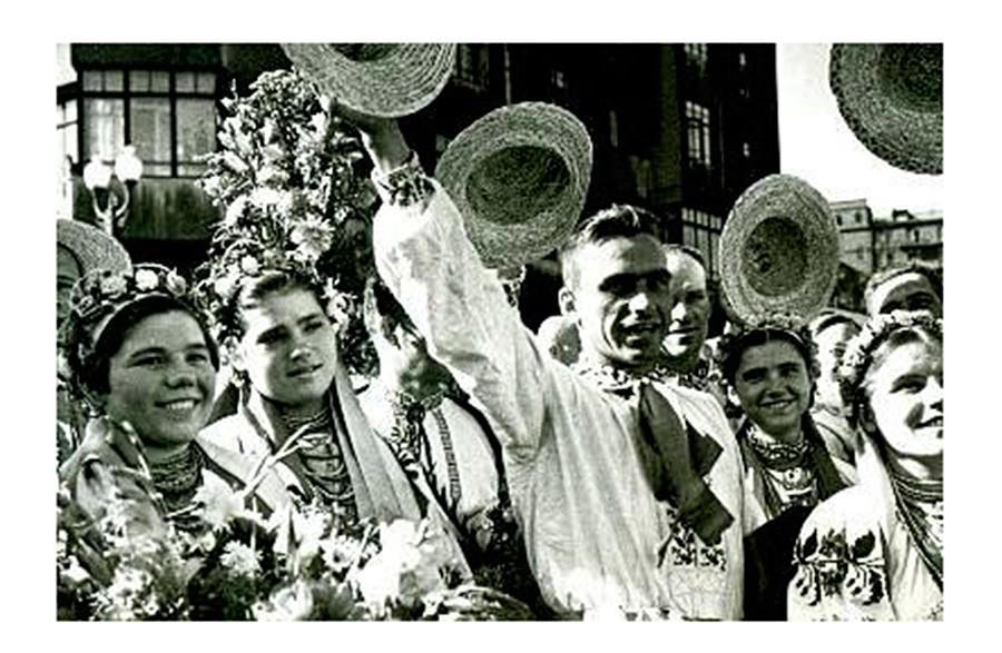 Jugendliche in der Westukraine, 1940