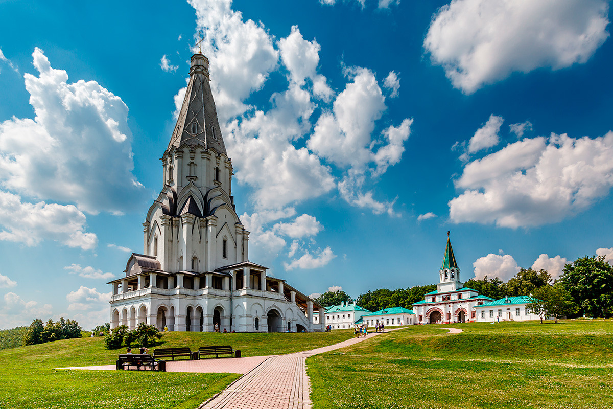 Église de l'Ascension à Kolomenskoïé (un domaine impérial en périphérie de Moscou)