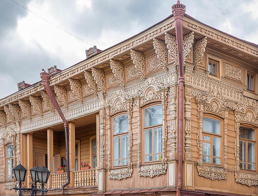 À Tomsk, Sibérie