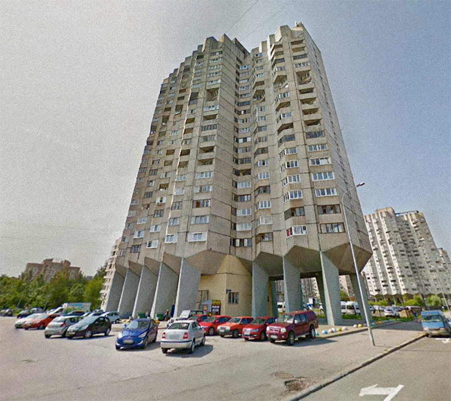 Русија, Санкт Петербург. Државен станбен комплекс.