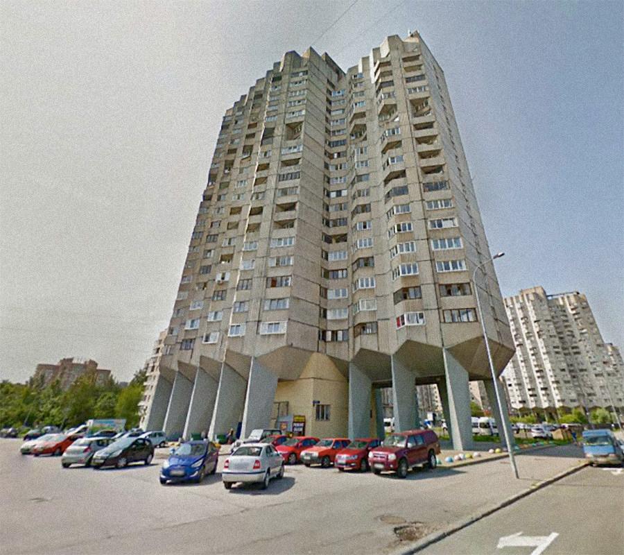 Kompleks apartemen negara, Sankt Peterburg, Rusia.
