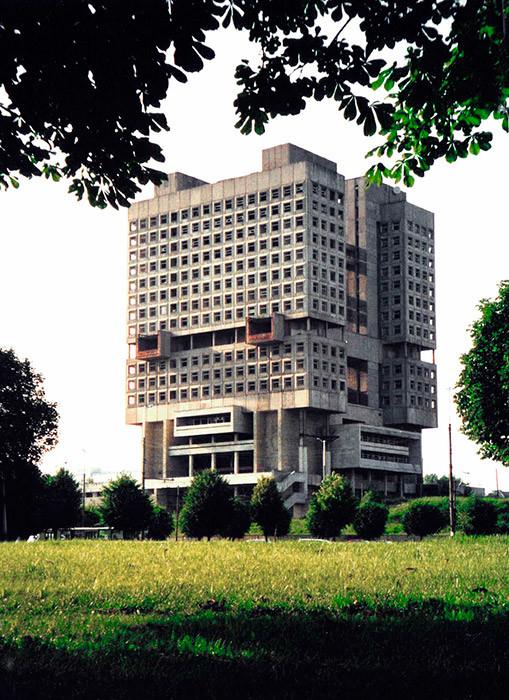 Gedung Soviet (1957), Kaliningrad, Rusia.