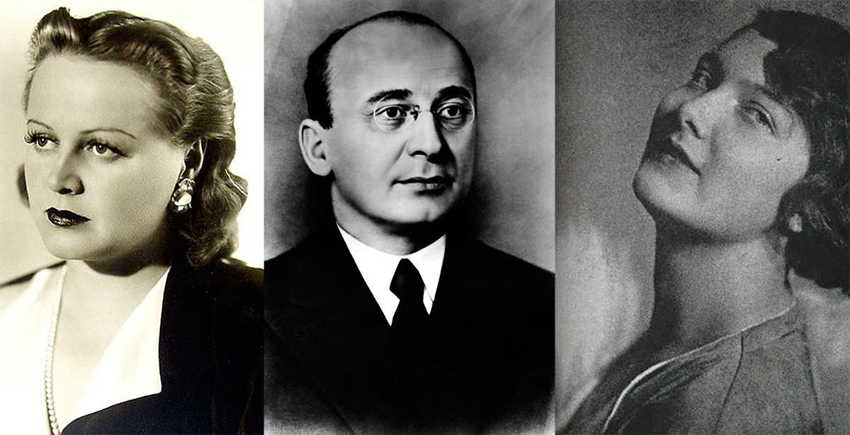 Tatjana Okunjevskaja, Lavrentij Berija, Nina Aleksejeva