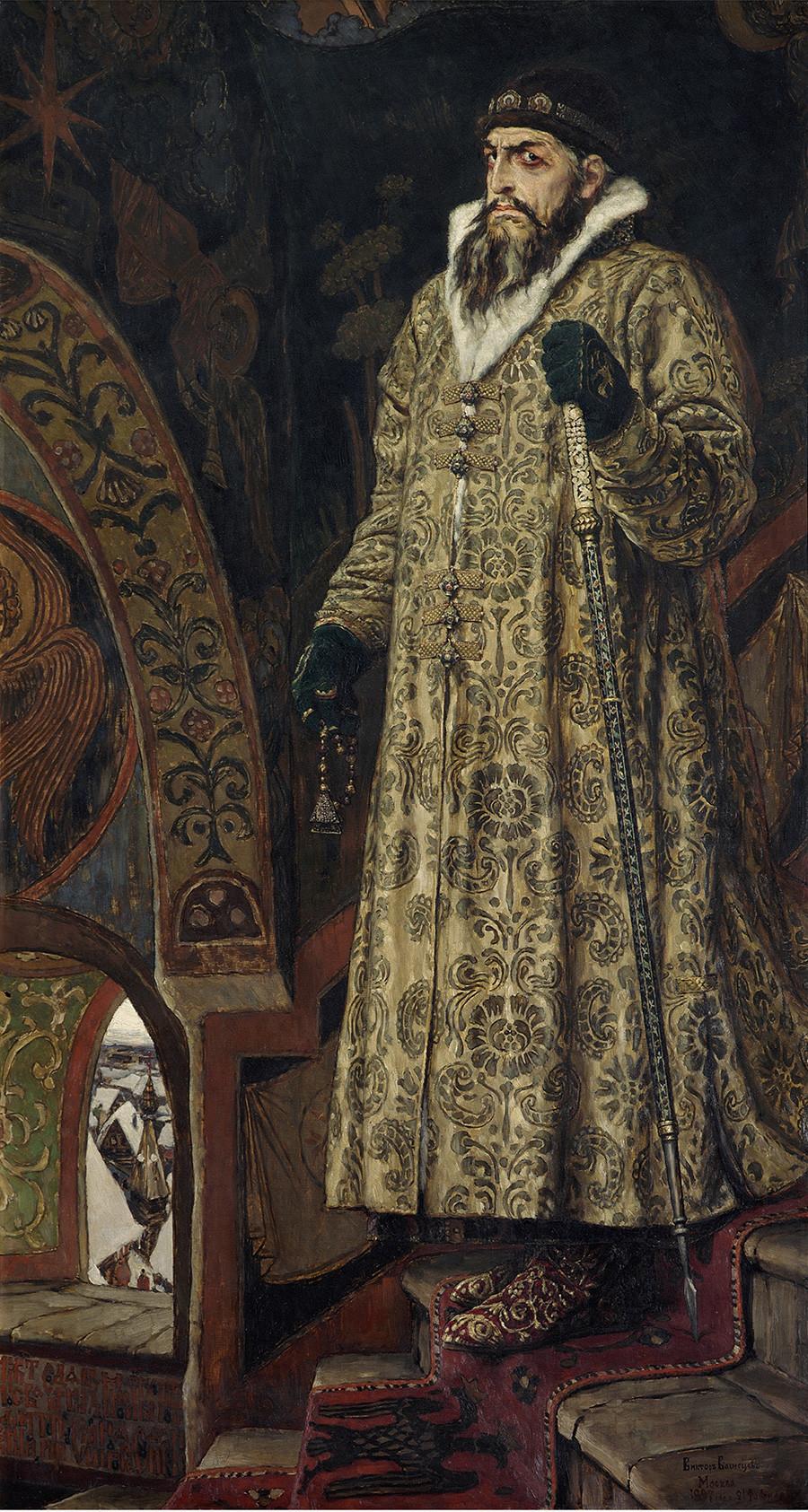 Ivã, O Terrível. Pintura de 1897 de Viktor Vasnetsov.