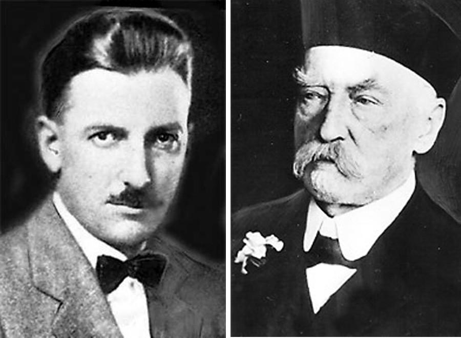 Ferdinand Theodor von Einem et Julius Geis