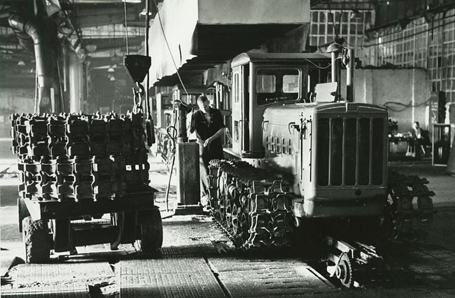 Fábrica de tratores em Carcóvia, 1958-59