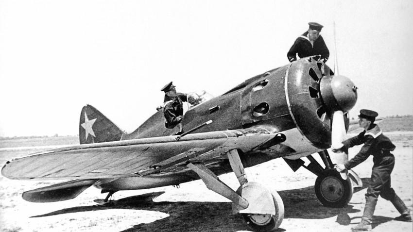И-16 на Халкин Гол, 1. януари 1939.
