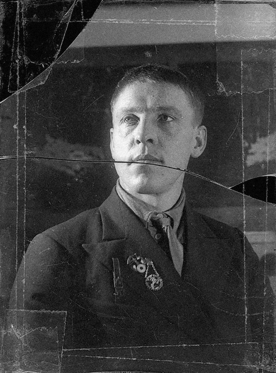 Алексей Стаханов, 1934 г.