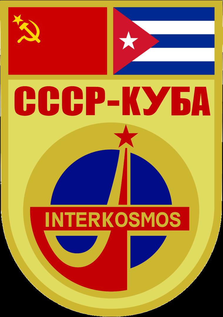 Parche de la misión conjunta soviético-cubana Soyuz 38