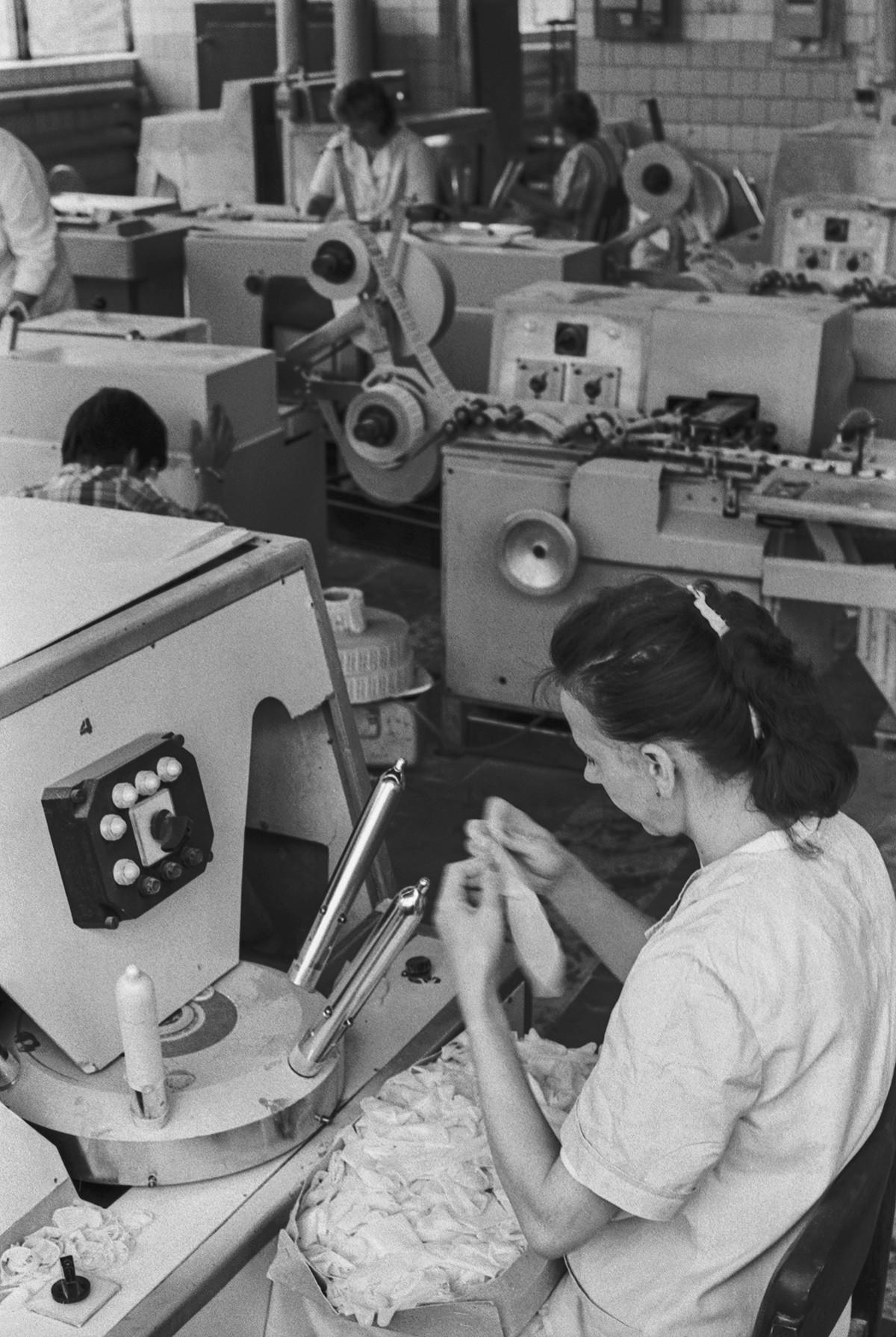 Баковската фабрика за гумени производи.