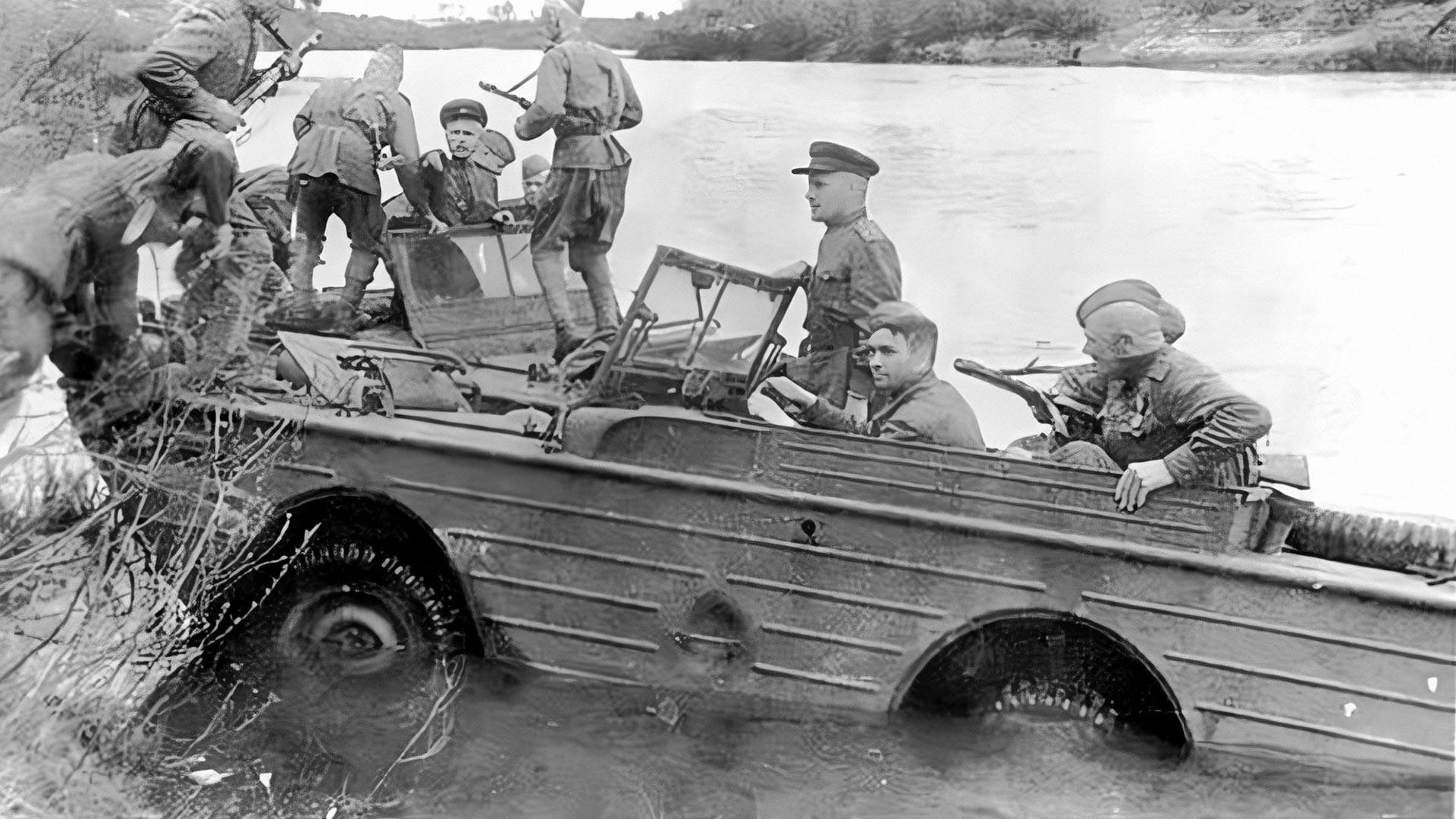 Ford GPA у Црвеној армији.