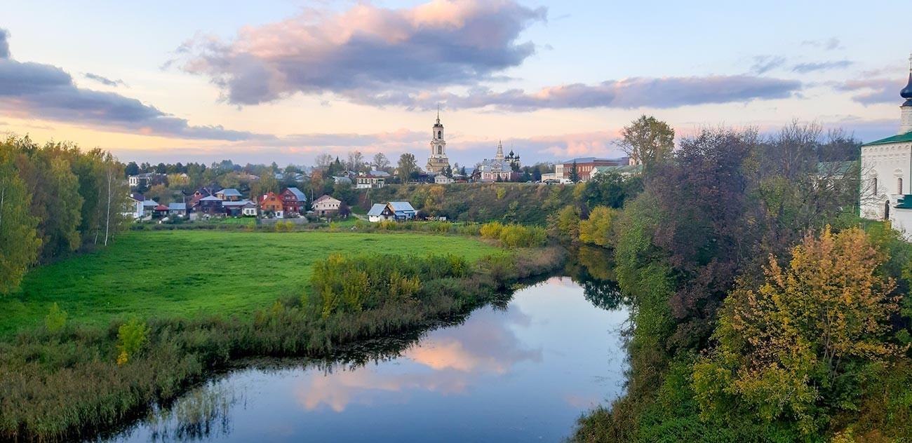 A cidade de Súzdal.