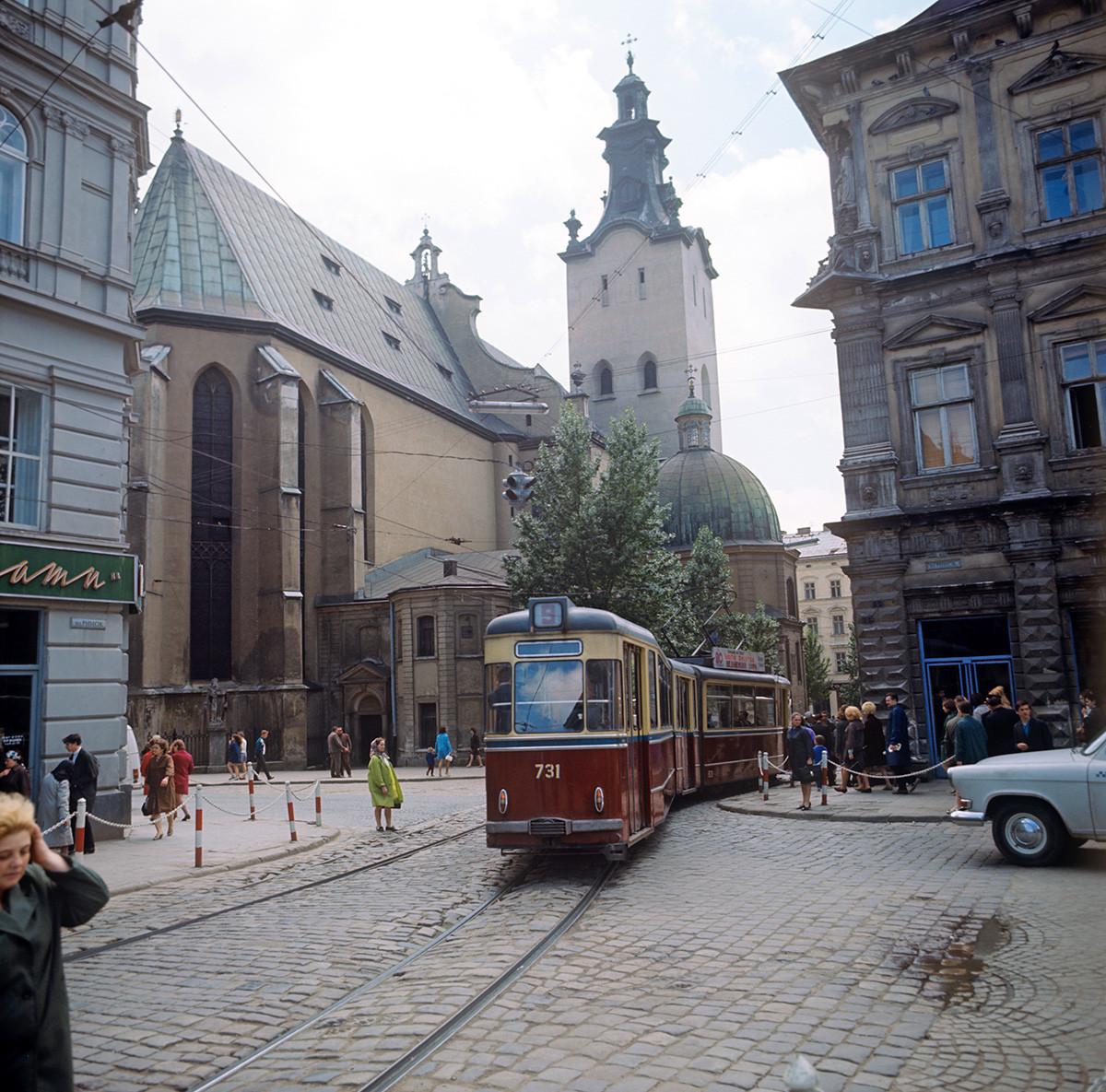 Lviv, 1970.