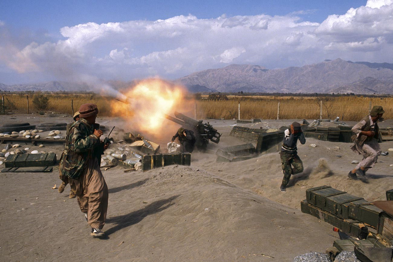 Mujahidin Offensive in the Jalalabad Area in Afghanistan.