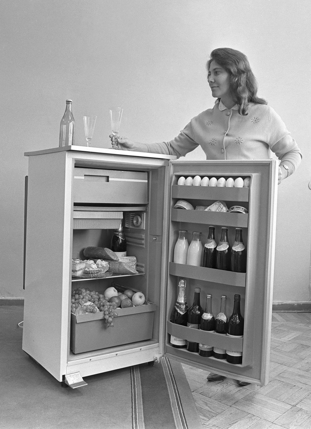 Usine de réfrigérateurs à Chisinau, 1970