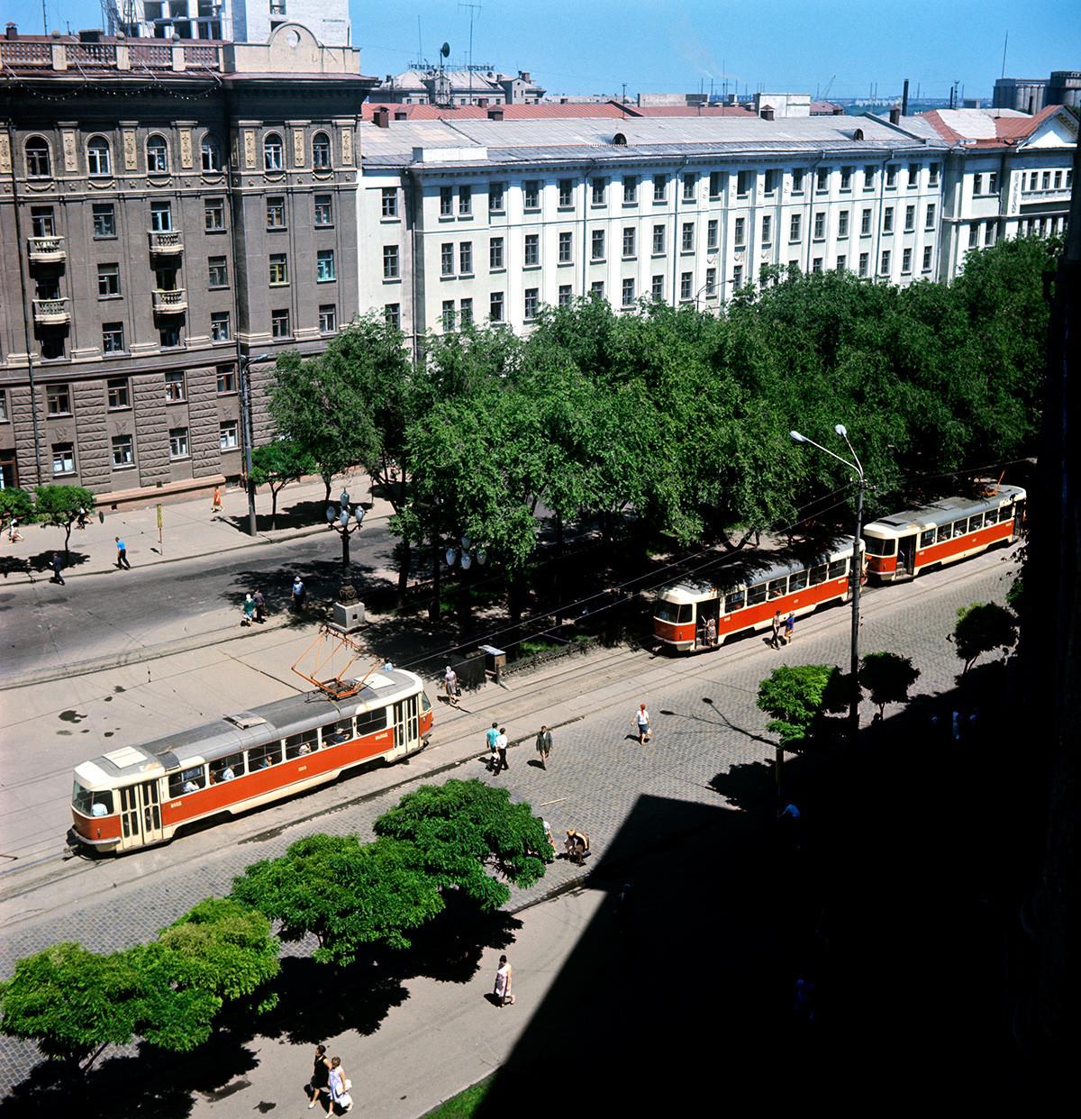 Улице Дњепропетровска, 1970.