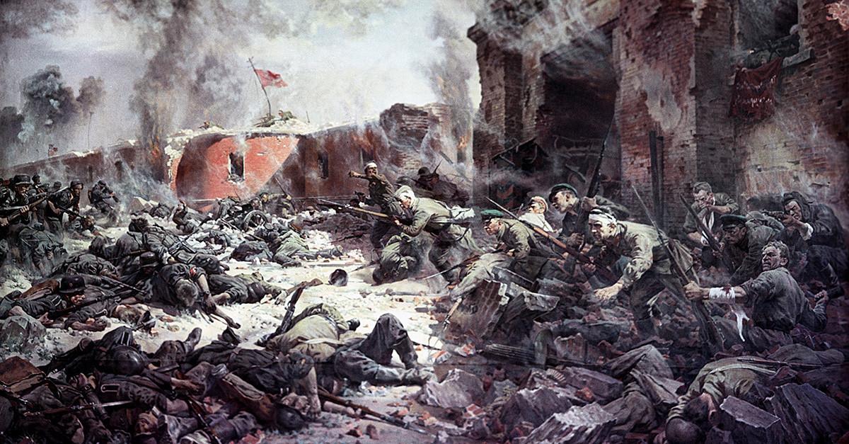 Piotr Krivonogov. Defensores da Fortaleza de Brest, 1951