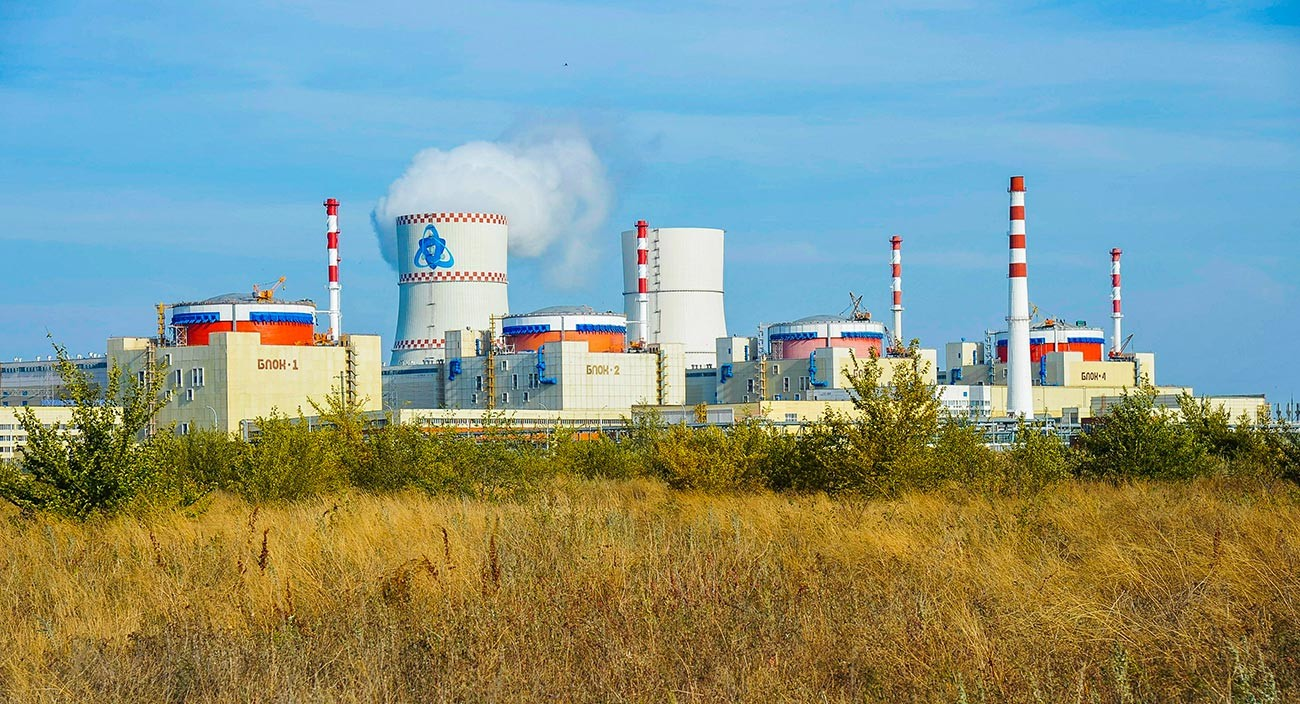 The Rostov-on-Don nuclear power plant, Russia