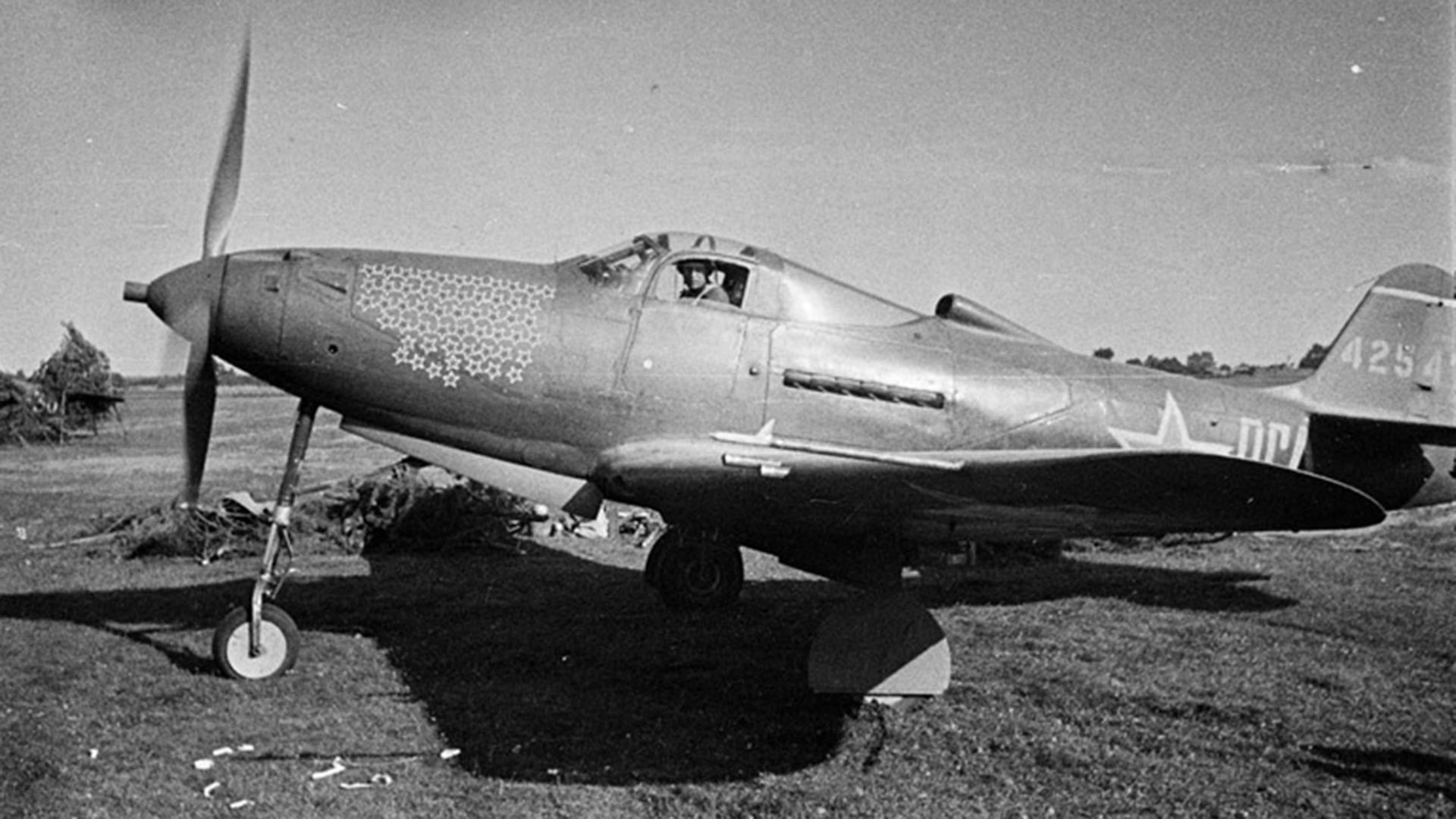 Letalo pilota Grigorija Rečkalova
