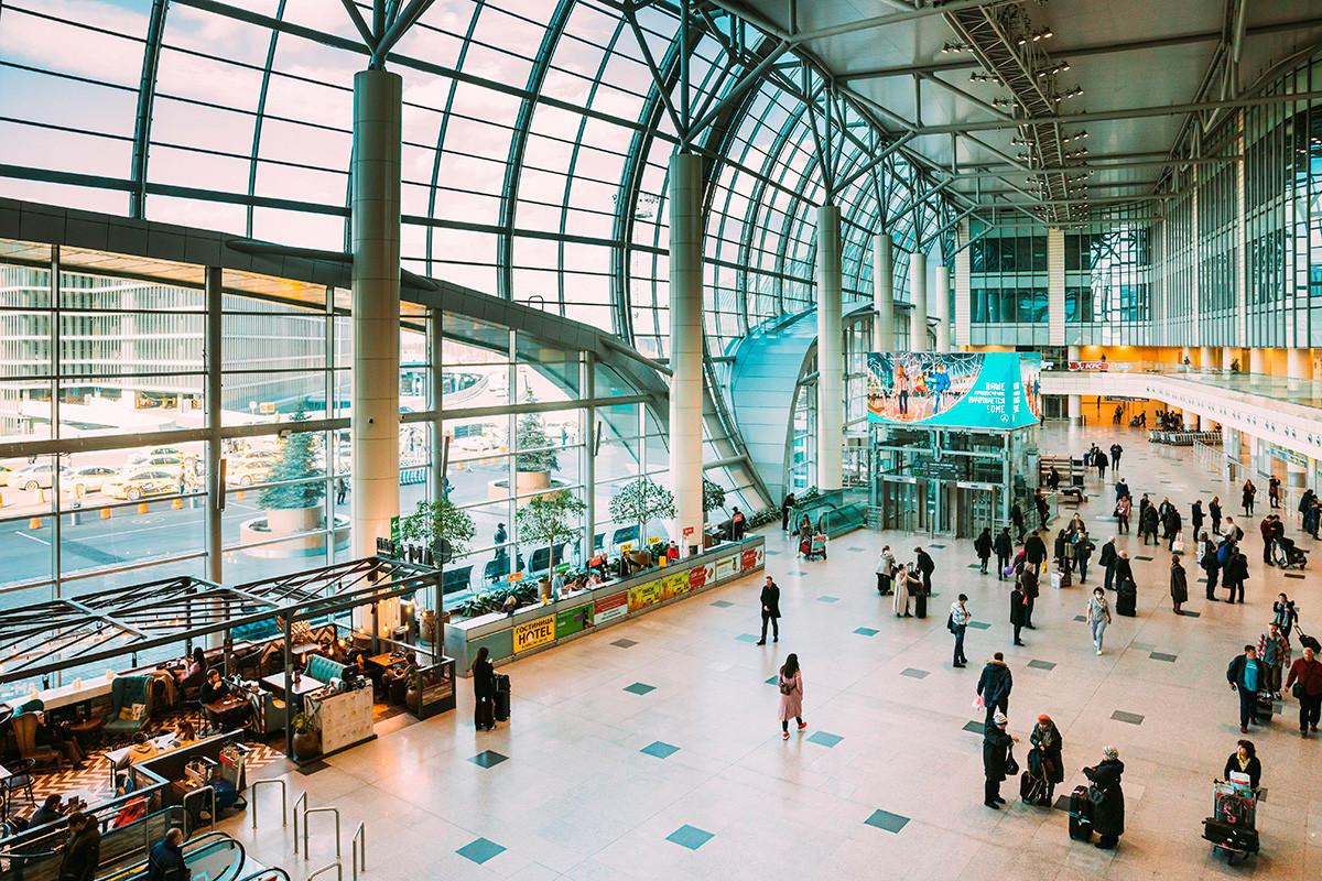 El aeropuerto de Moscu Domodedovo