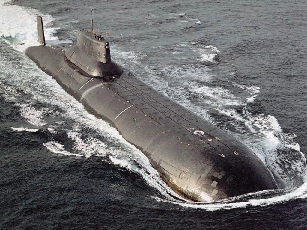 Submarino soviético da classe Tufão