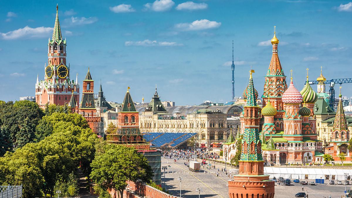 Katedrala Vasilija Blaženega in Kremelj