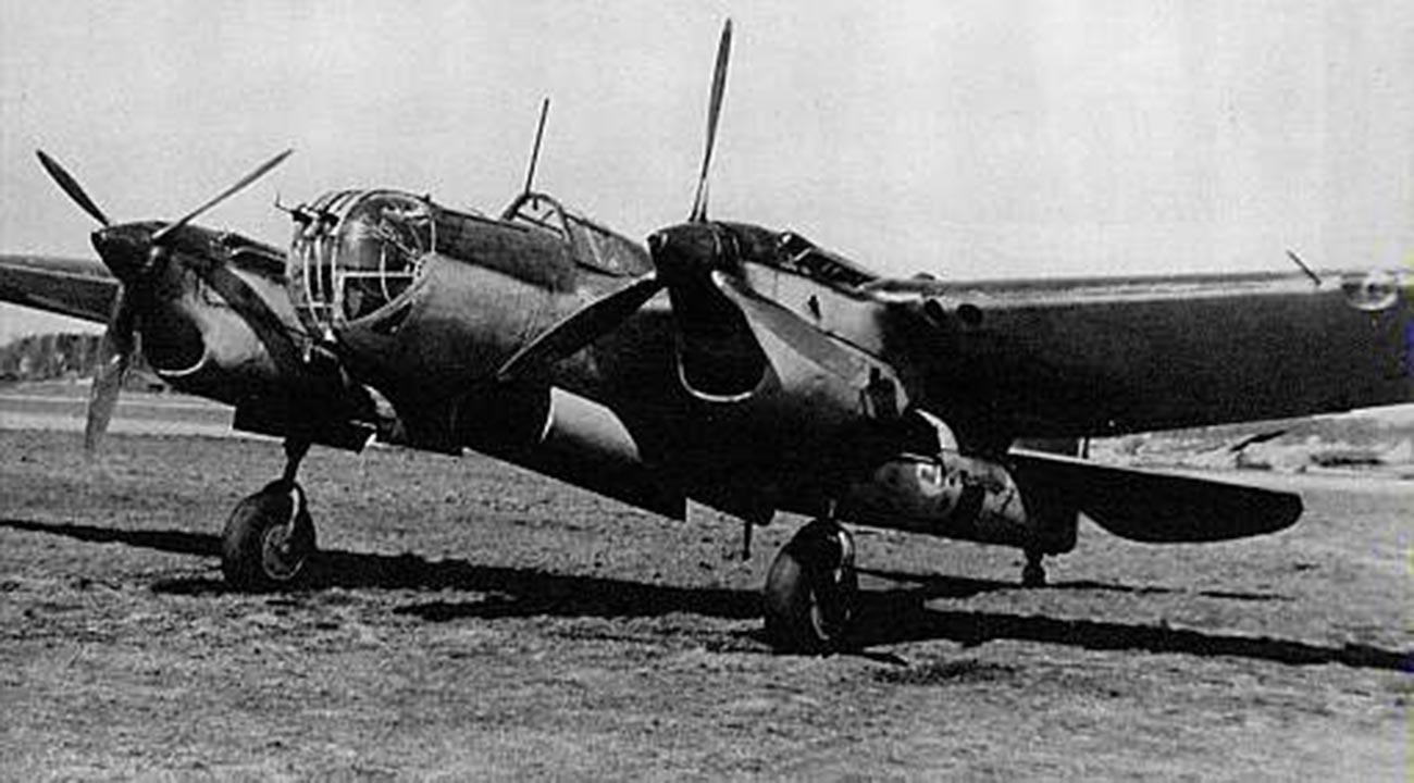 Бомбардировщик СБ-2.