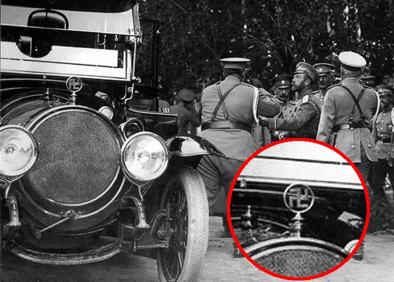 Автомобиль Николая II.