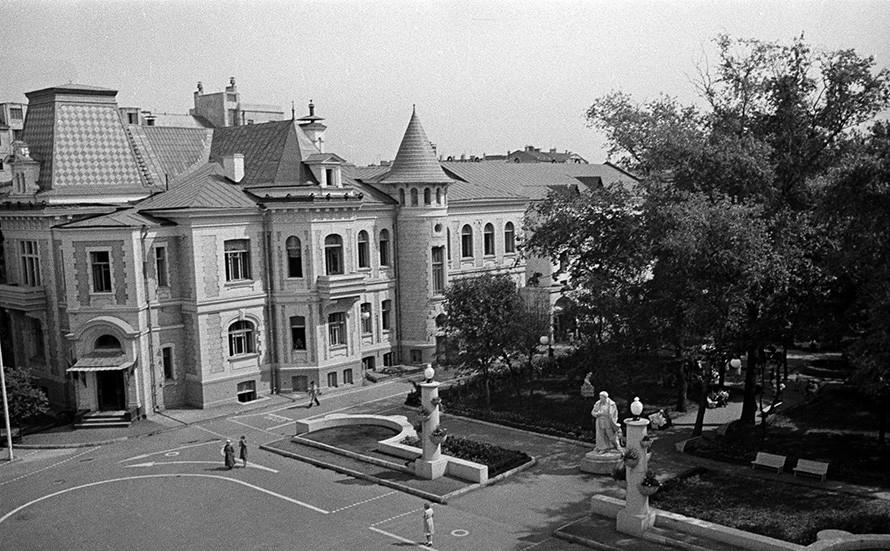La Casa de los Pioneros de Moscú.